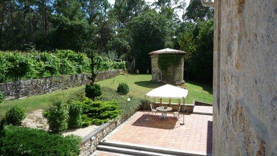 Casa A Pedreira: jardin hotel