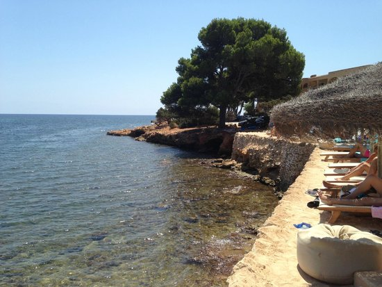 Grupotel Santa Eularia Hotel: View from Babylon Beach Bar