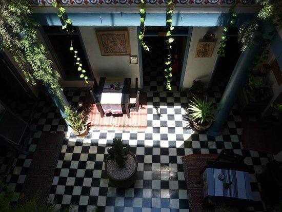 Hotel Les Matins Bleus: Erdgeschoss