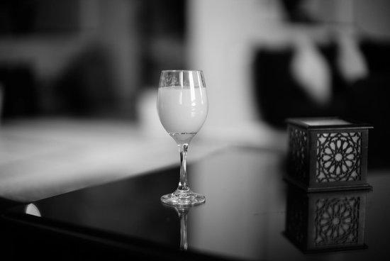 Lina Ryad & Spa: Lemon juice at Lina Ryad and Spa