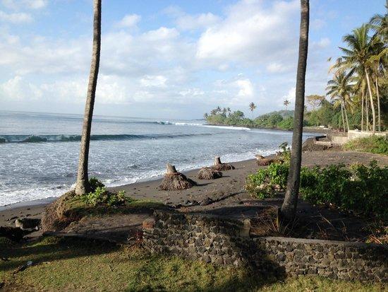 Villa Matanai: Beach