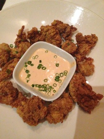 Harrah's New Orleans : Fried Oysters