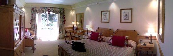 Olissippo Lapa Palace : Garden/pool room