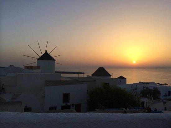 Ochre Restaurant : Spectacular sunset view