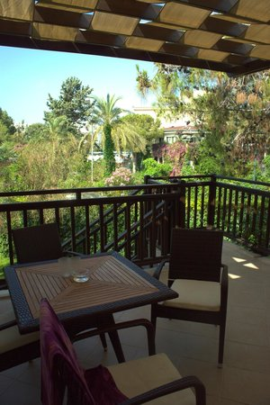 Otium Eco Club Side: Our terrace