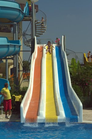 Otium Eco Club Side: Water slides