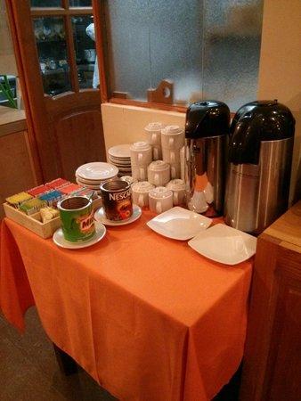 Hatun Samay: complimentary breakfast spread