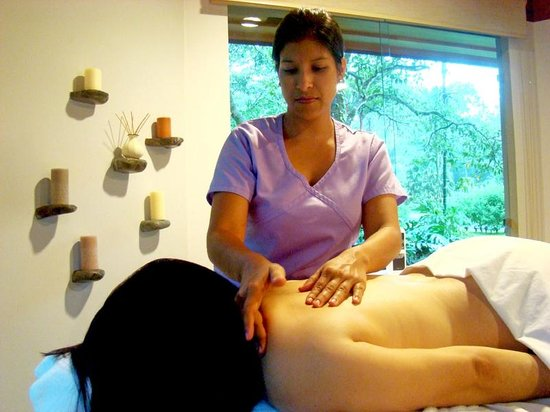 Arenal Observatory Lodge & Spa: Spa at Arenal Observatory Lodge