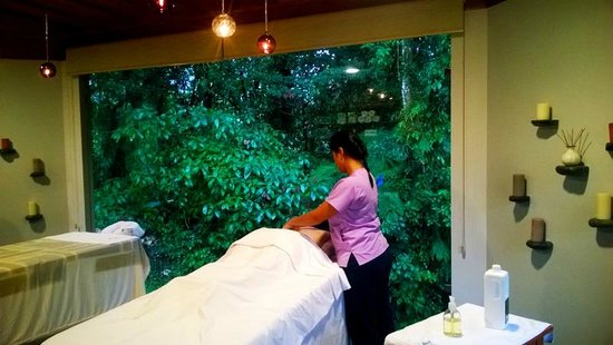 Arenal Observatory Lodge & Spa: Masssages in the Spa at Arenal Observatory Lodge