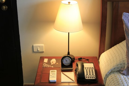Bedside table with lamp and telephone picture of como uma paro como uma paro bhutan bedside table with lamp and telephone mozeypictures Gallery