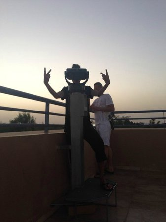Club Marmara Madina : terrasse en hauteur