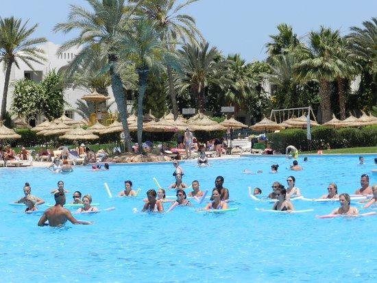 Vincci Resort Djerba : animations musicales piscine
