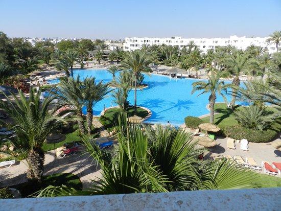 Vincci Resort Djerba : vue du balcon