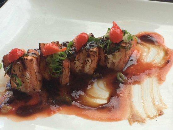 Soho Restaurante : delicias de salmão