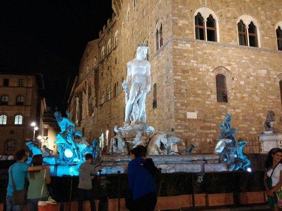 Piazza della Signoria: Piazza Signoria la sera