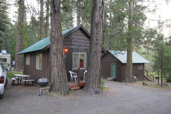Mill Creek Resort: Cabin #6 (cozy one-bedroom with futon in front room)