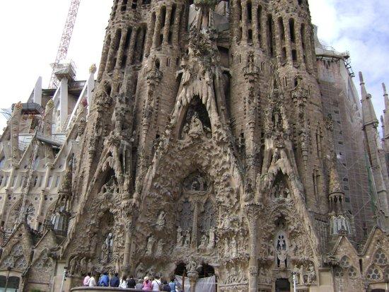 Canigo Hostal : La Sagrada Familia,visione mozzafiato!!