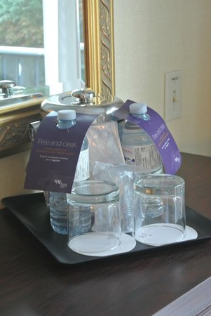Sheraton on the Falls : complimentary water