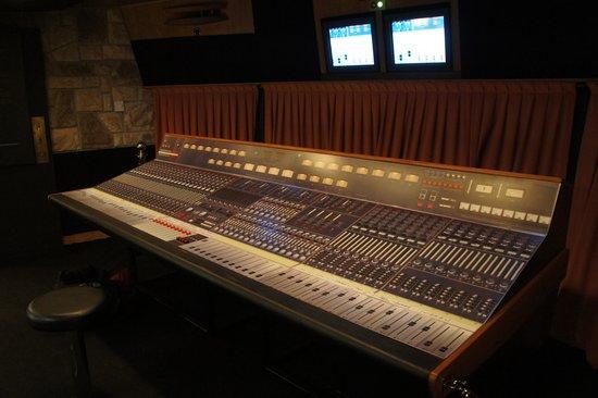 Montreux, Switzerland: Original studio