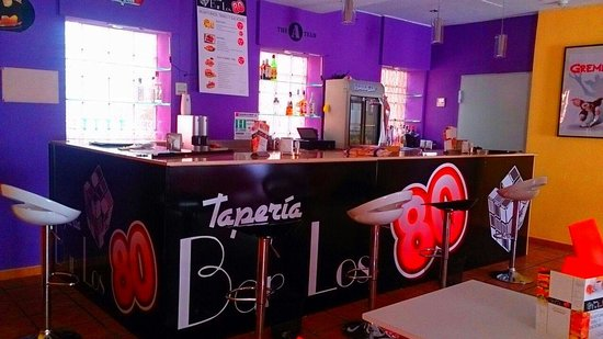 Taperia Bar los 80