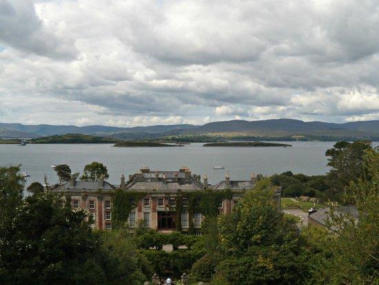 Bantry House & Garden : Vista dall'alto