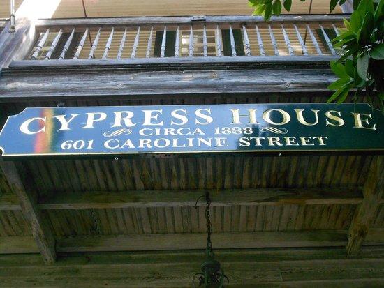 Cypress House Hotel : Key West: Entrance