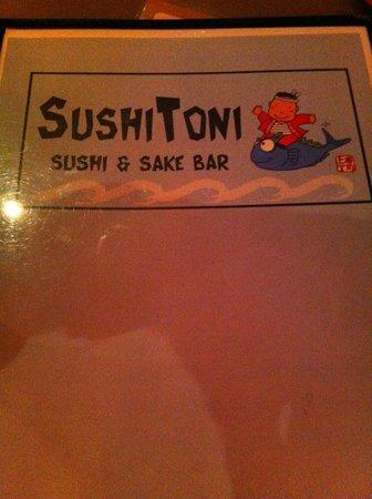 Sushi Toni: menu