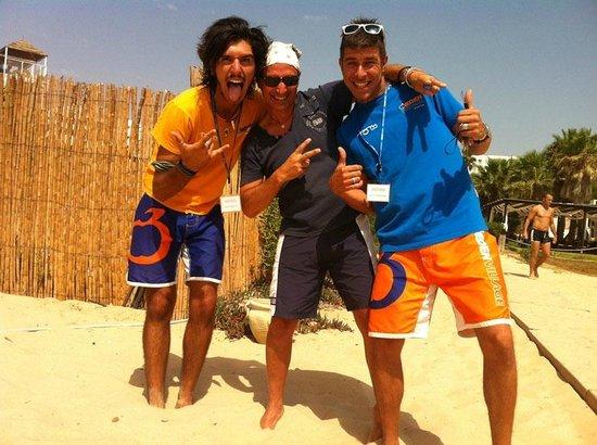 Eden Village Yadis Hammamet: qui con Andrea Mangione e Andrea Tripi