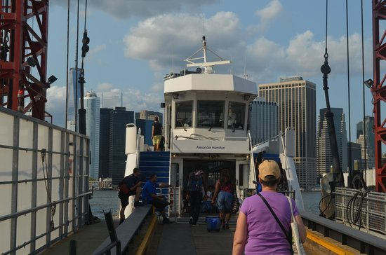Governors Island National Monument : Governor's Island Ferry