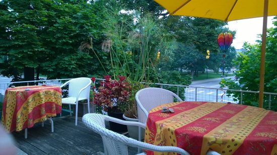 Ann Arbor Bed & Breakfast: Breakfast View