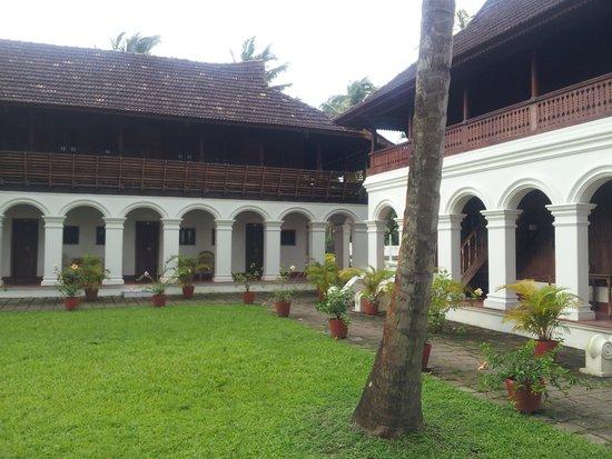 Soma Kerala Palace : The landscape 1
