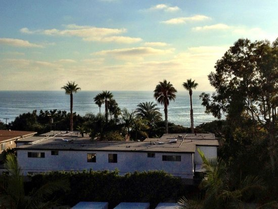 "Best Western Premier Hotel Del Mar: Zoomed in view from ""Ocean View"" room"