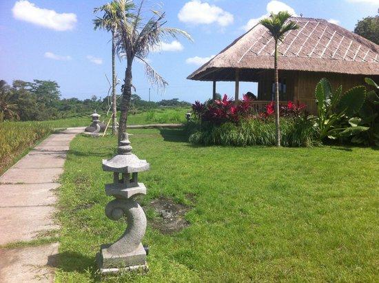 Puri Taman Sari: Bamboo bungalow