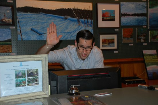 Mountain Springs Lake Resort: Ben Rader - The most amazing Receptionist/Reservationist!!!