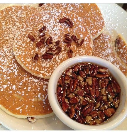 Pancake Pantry : Pecan Pancakes