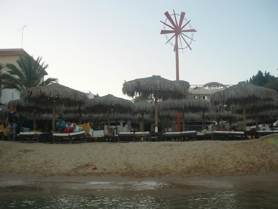Elysees : Beach view from the sea