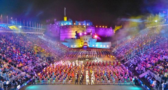 The Royal Edinburgh Military Tattoo : Breathtaking