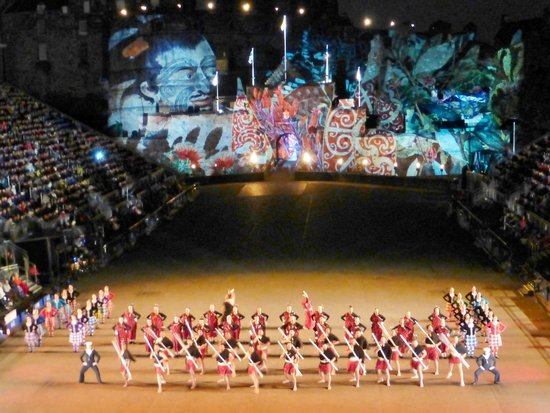 The Royal Edinburgh Military Tattoo : Beautiful