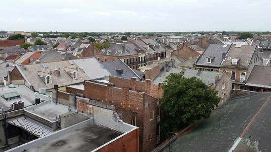 Omni Royal Orleans: View from the roof.