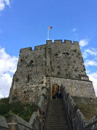 Arundel Castle and Gardens: Shot of the keep