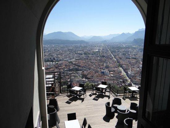 Bastille : Depuis le fort : Grenoble