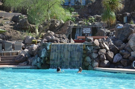 One of the waiters picture of phoenix marriott tempe at for Tempe swimming pool