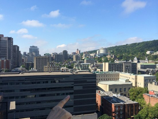 L'Appartement Hotel : View from the roof
