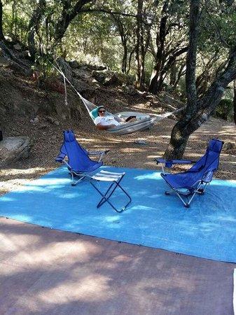 Camping La Vetta : emplacement de rêve