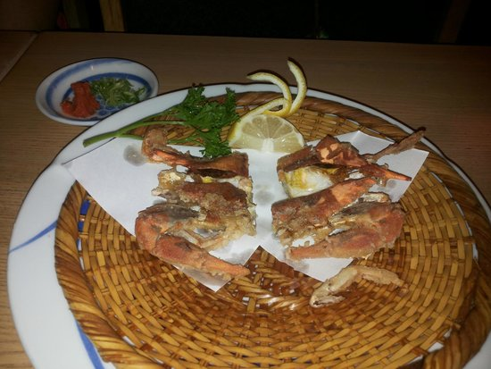 Hatsuhana Restaurant: El excelente cangrejo de cáscara blanda