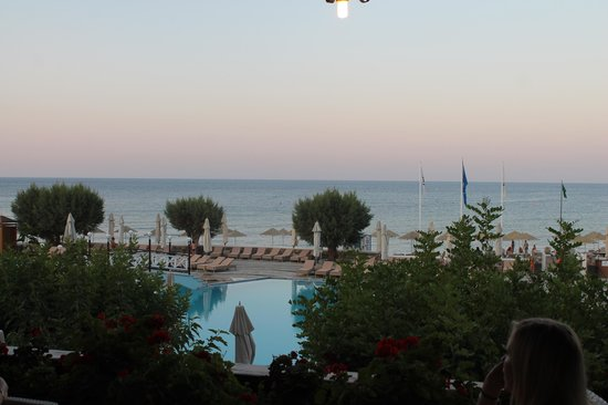 Creta Maris Beach Resort: view from the terrace