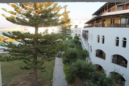 Creta Maris Beach Resort: window view