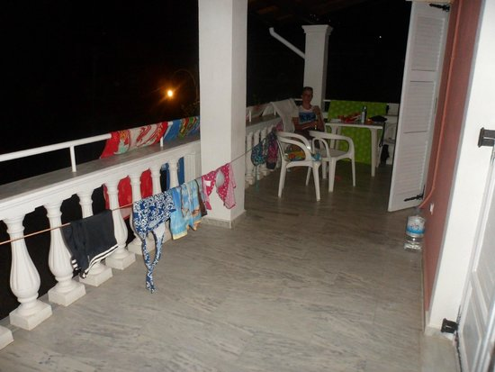 Donna Amalia Apartments : Our massive balcony