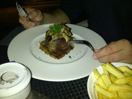 HM Jaime III: Great food