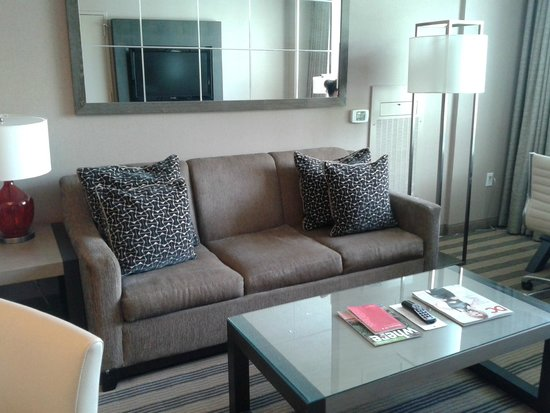Avenue Suites Georgetown: Very comfy sitting area!